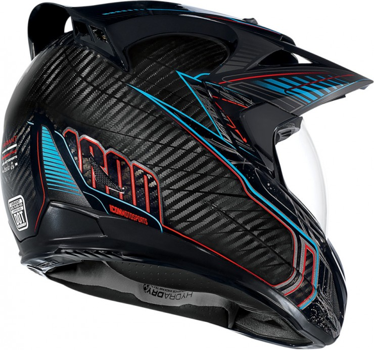 Icon Variant Carbon Cyclic Helmet 1