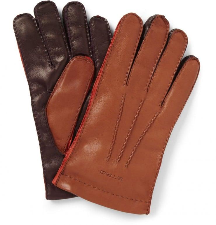 Lambskin Gloves by Etro