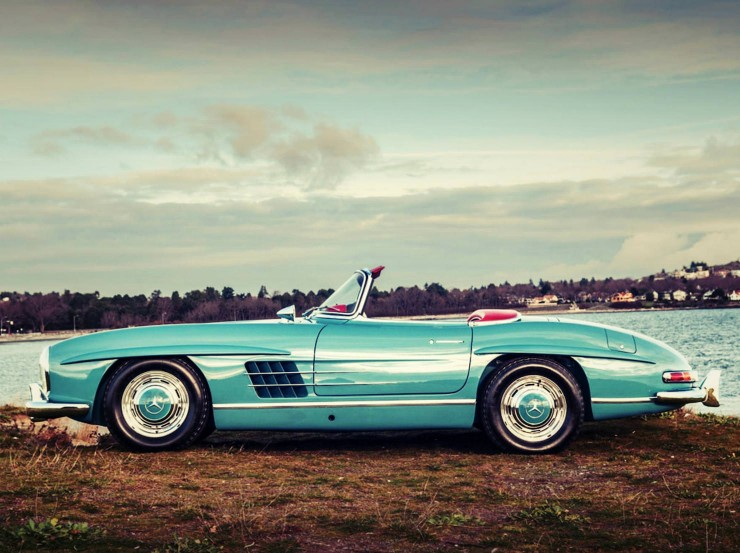 Mercedes Benz 300 SL Roadster 8 Fotor 740x553 1958 Mercedes Benz 300 SL Roadster