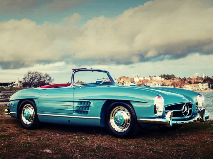 Mercedes Benz 300 SL Roadster 9 Fotor 740x554 1958 Mercedes Benz 300 SL Roadster