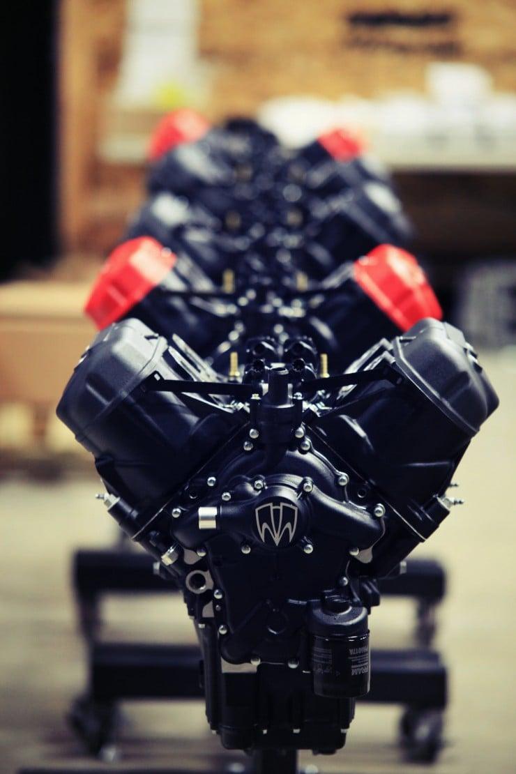 Motus MST Motorcycle Engine