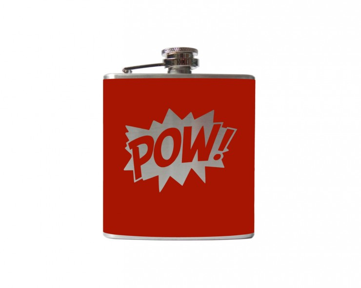 POW Hip Flask
