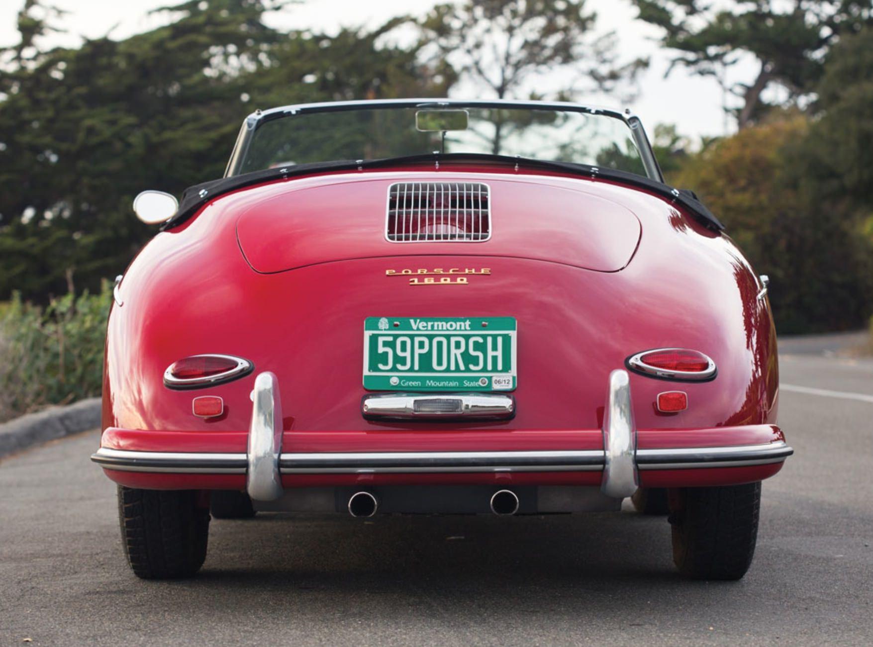 Porsche 356 A 1600 Convertible D By Drauz