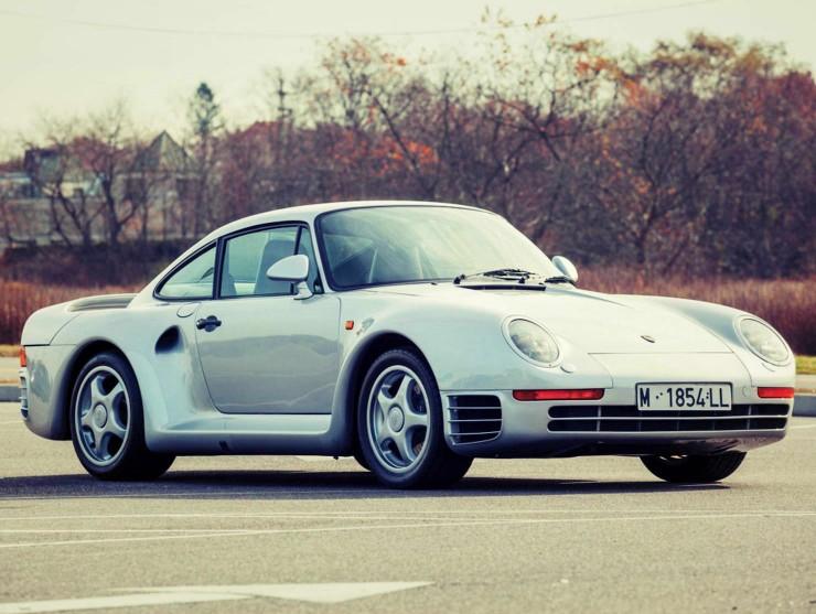 Caf Racer 76 1988 Porsche 959