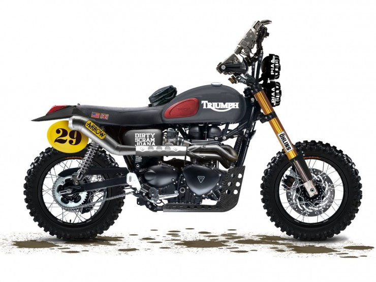 Triumph Scrambler Custom 740x556 Top 13 Motorcycles of 2013