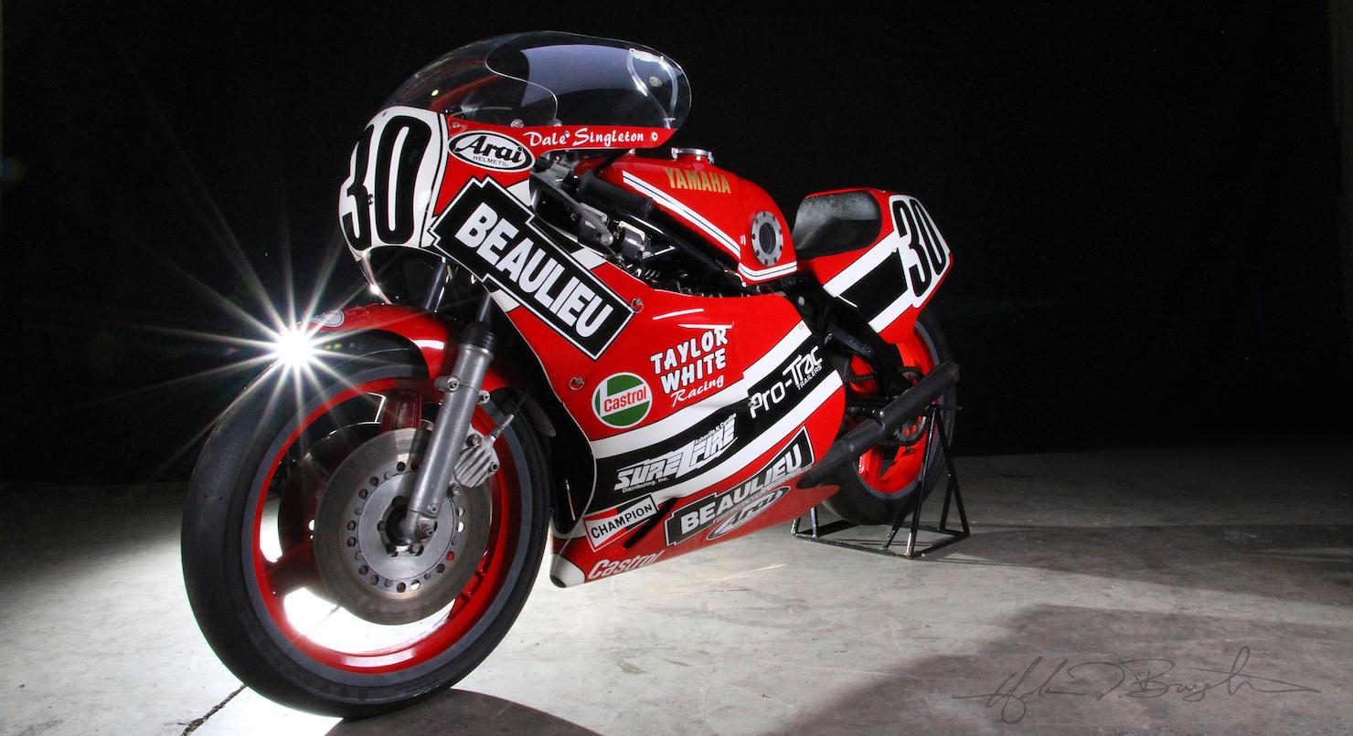 Dale Singleton S Yamaha Tz750