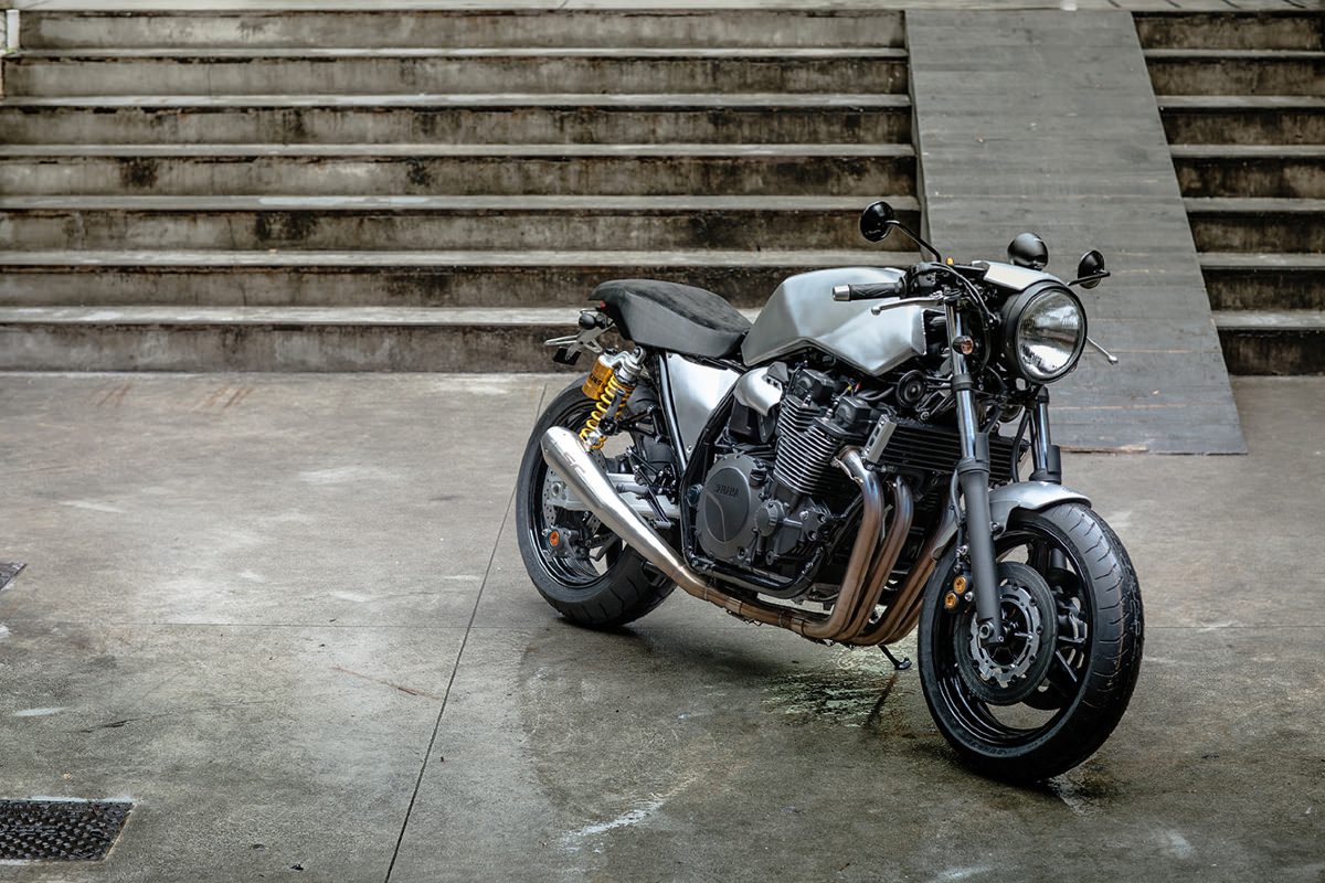 Yamaha Xj Exhaust Modification