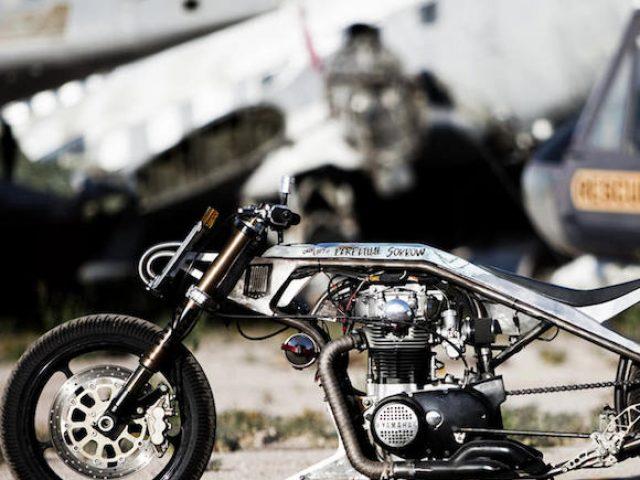 Yamaha XS650 by ICON 1000