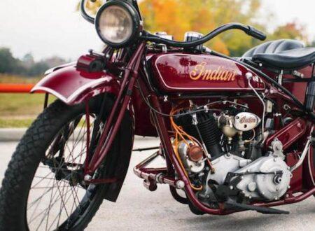 ex Steve McQueen restored by Von Dutch in 1969 41 450x330 - Steve McQueen's Indian Big Chief (restored by Von Dutch)