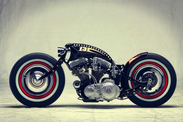 harley-davidson-custom-motorbike-side-profile