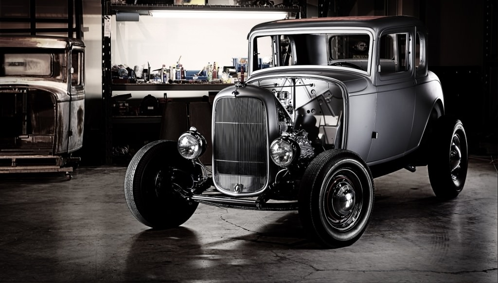 1932 Ford 5 Window Coupe Body1