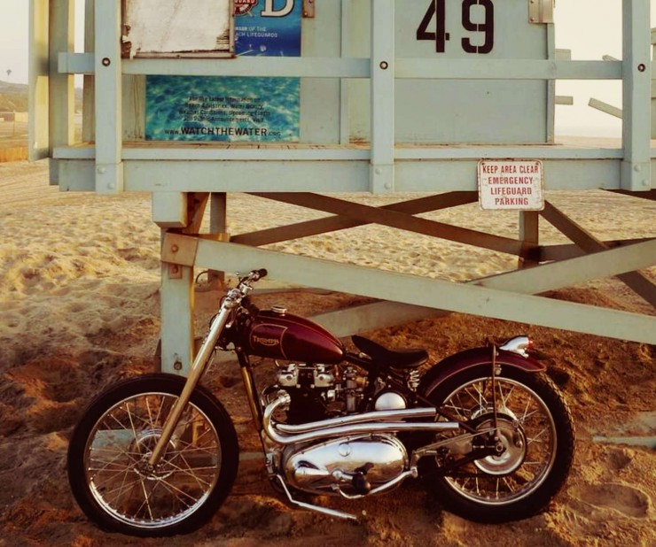 1949 TRIUMPH 6T  Motorbike_Fotor