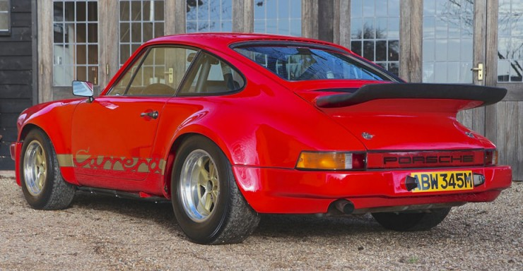 1974 Porsche Carrera 3.0 RS 4