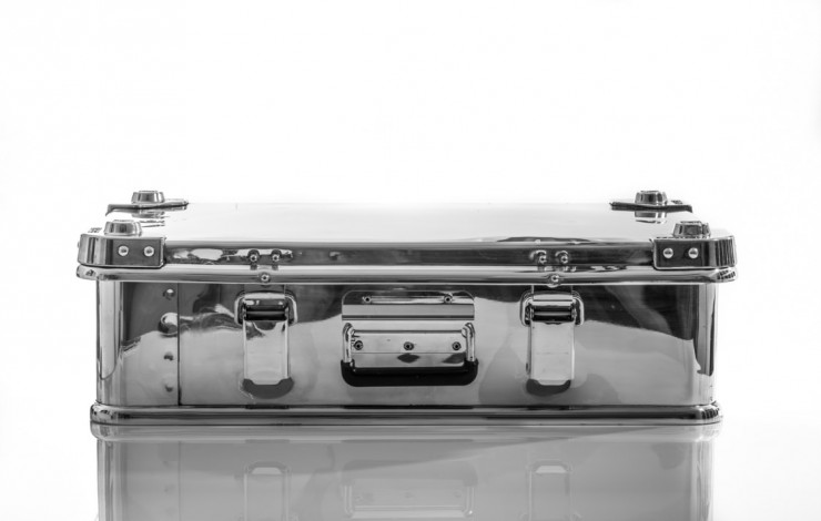 Aluminium Briefcase by Hangar 54 1