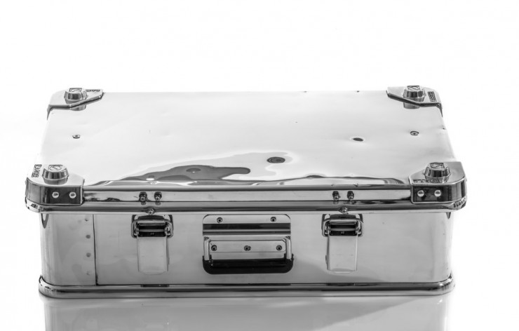 Aluminium Briefcase by Hangar 54