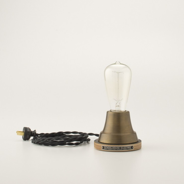 Brass Ion Lamp by Schoolhouse Electric