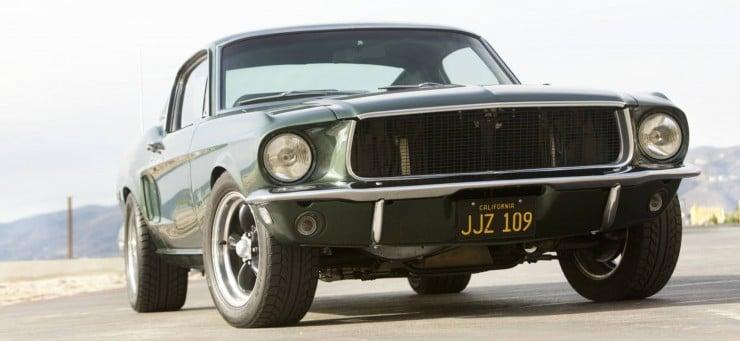 Bullitt Mustang McQueen