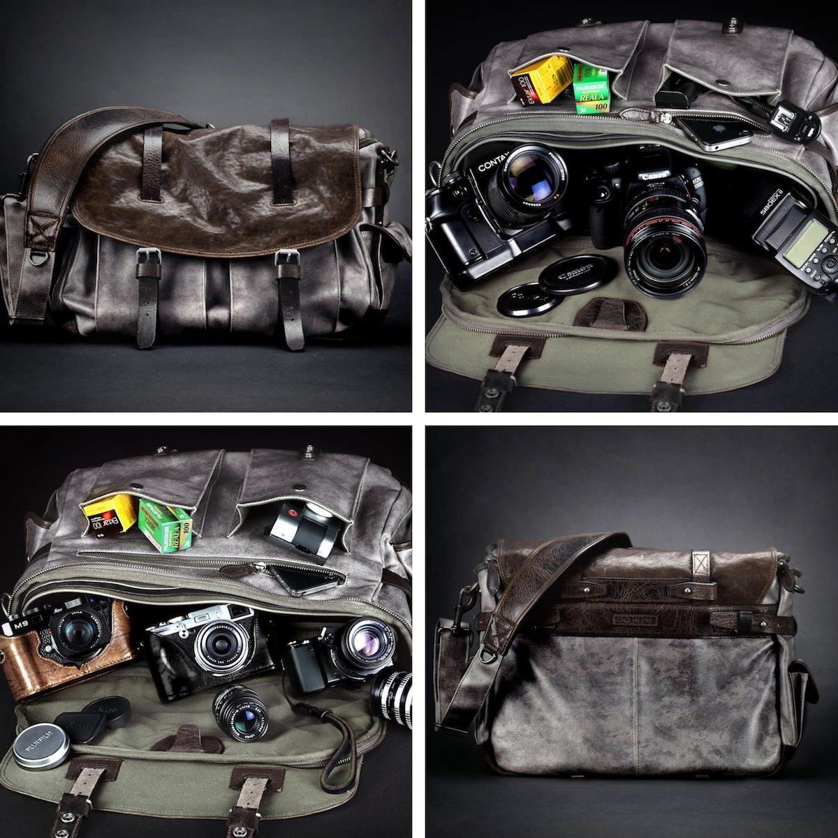 City Explorer Camera Bag by Wotancraft Atelier collage