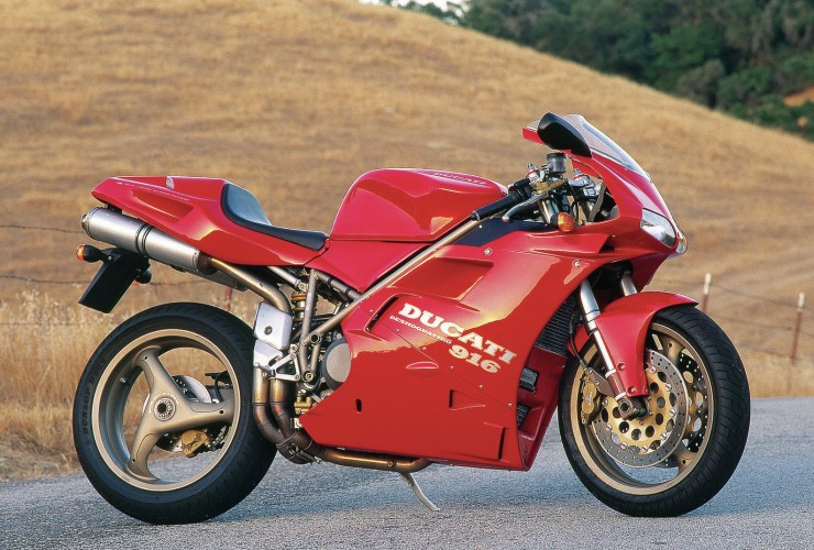 Ducati 916 740x500 Affordable Superbikes   The eBay Collection