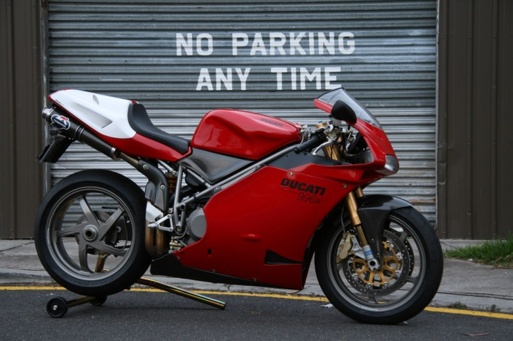 Ducati 996 740x493 Affordable Superbikes   The eBay Collection