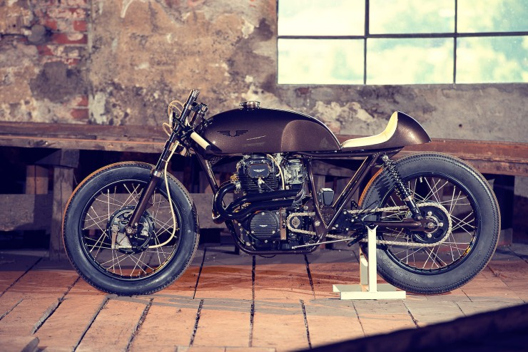 Honda CB250 1 740x494 Honda CB250 by Exesor Motorcycles