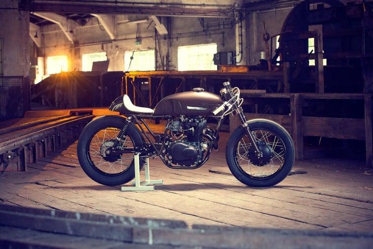 Honda CB250 2 740x494 Honda CB250 by Exesor Motorcycles