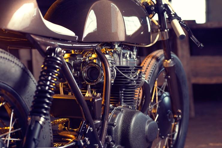 Honda CB250 4 740x494 Honda CB250 by Exesor Motorcycles