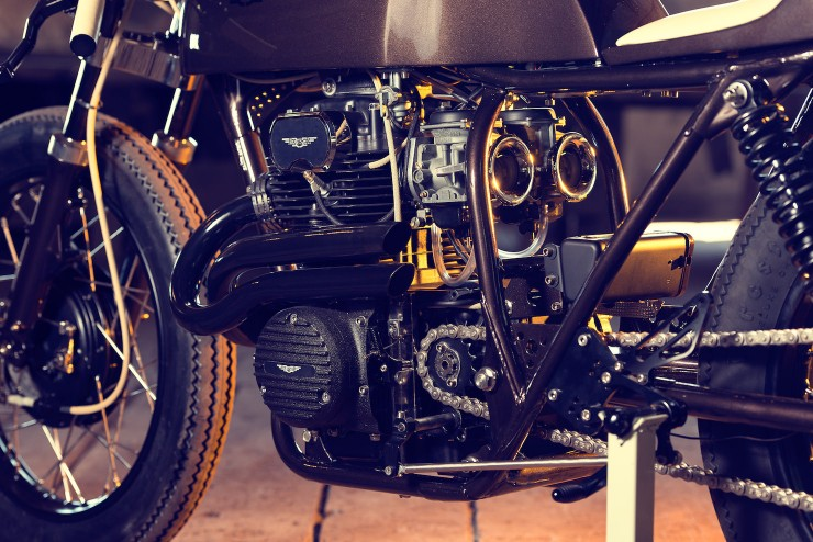 Honda CB250 5 740x494 Honda CB250 by Exesor Motorcycles