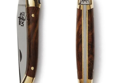 Laguiole Pocketknife with Pistachio Wood Handle 41 450x330 - Laguiole Pocketknife with Pistachio Wood Handle