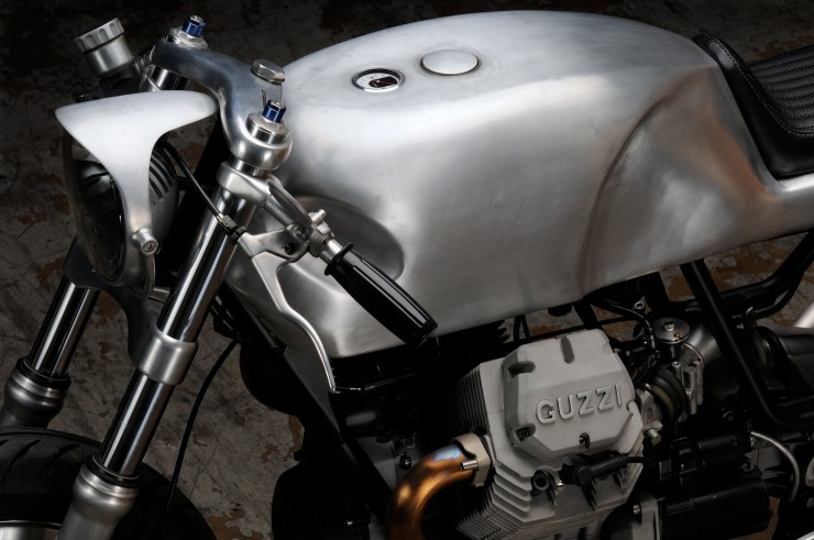 Moto Guzzi V7 Classic 740x491 Moto Guzzi V7 Classic by Revival Cycles