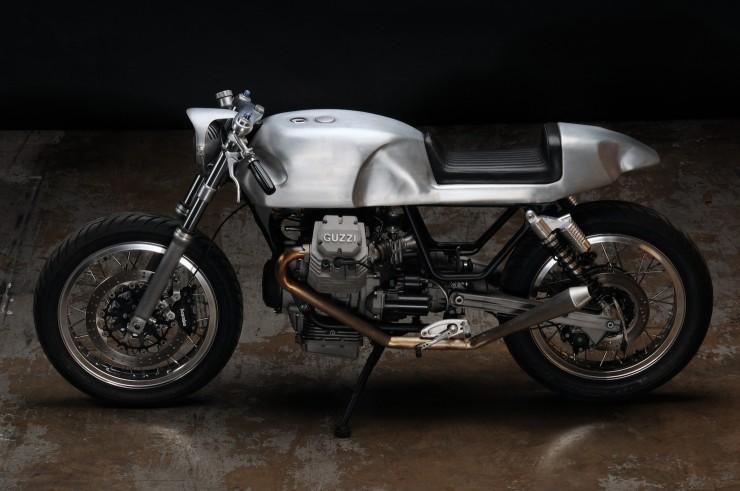 Moto Guzzi V7 Classic Motorbike 740x491 Moto Guzzi V7 Classic by Revival Cycles