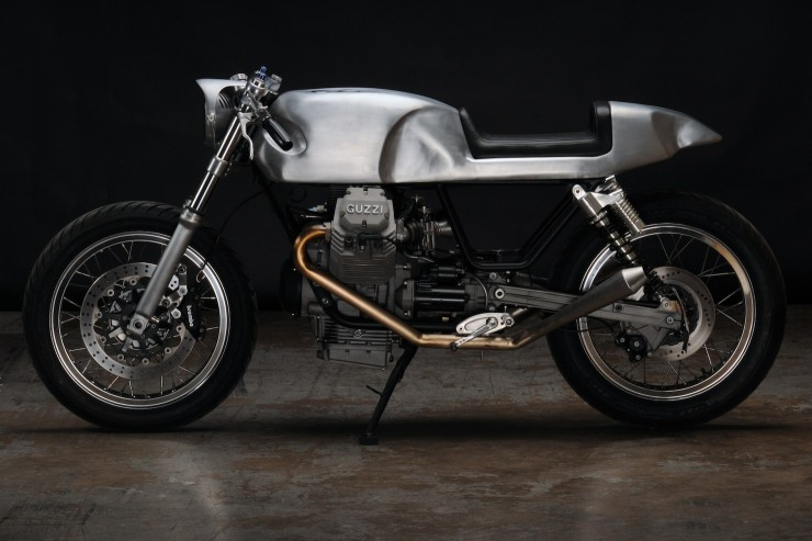 Moto Guzzi V7 Classic Motorcycle 740x493 Moto Guzzi V7 Classic by Revival Cycles