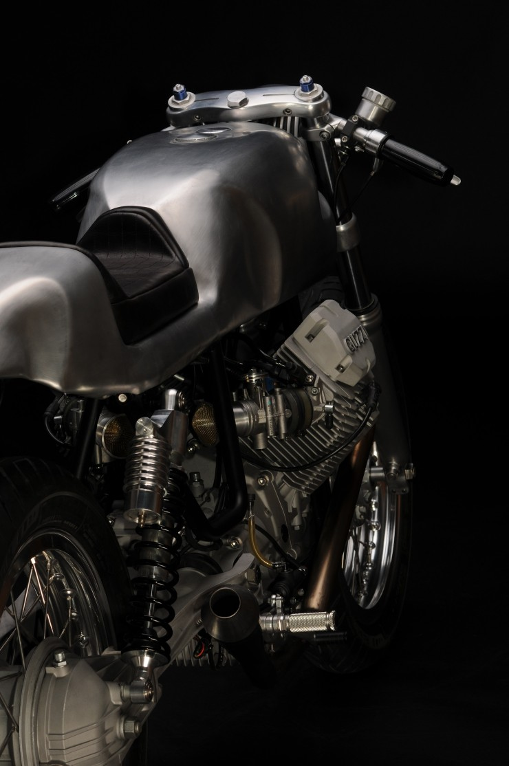 Moto Guzzi V7 Classic Rear 740x1114 Moto Guzzi V7 Classic by Revival Cycles