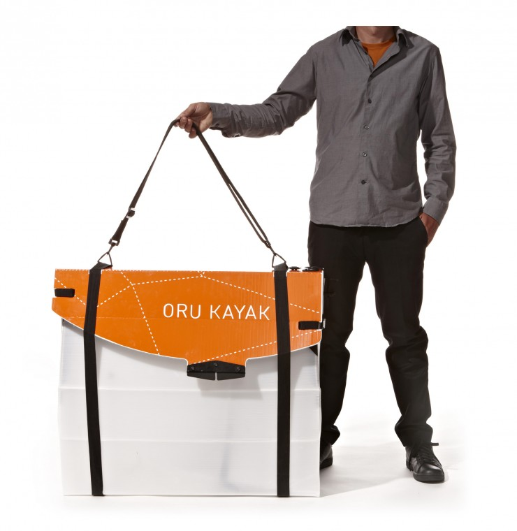 Oru Kayak Folded