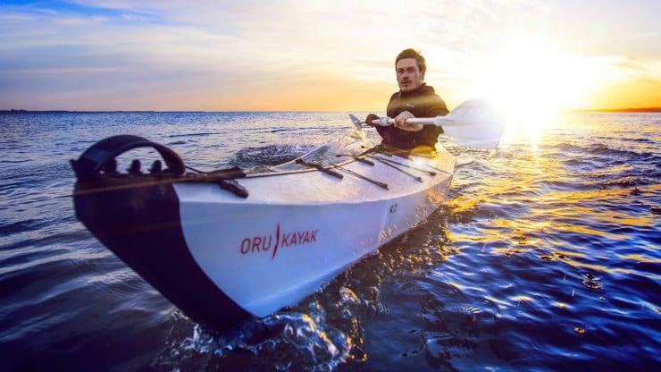 Oru Kayak On The Water