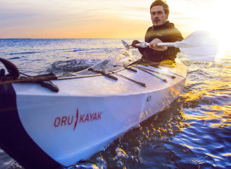 Oru Kayak On The Water1 450x330 - Oru Kayak