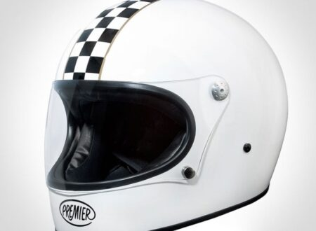 Premier Trophy Helmet1 450x330 - Premier Trophy Helmet - Checkered Flag Stripe Shell