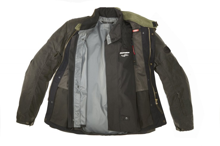 Spidi Worker Wax Motorcycle Jacket 1
