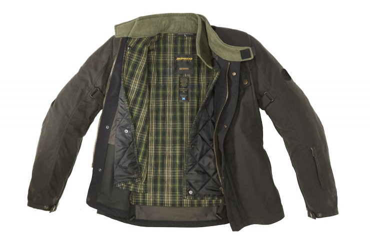 Spidi Worker Wax Motorcycle Jacket 2