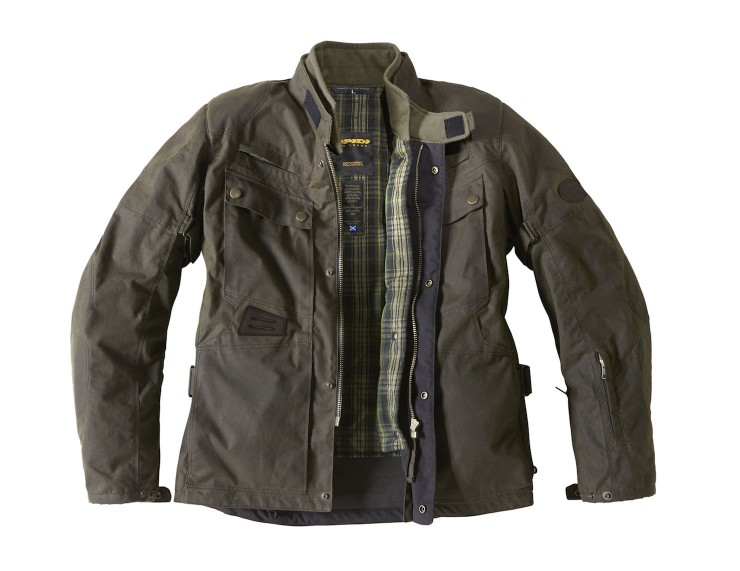 Spidi Worker Wax Motorcycle Jacket 3