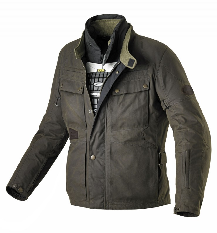 Spidi Worker Wax Motorcycle Jacket 4