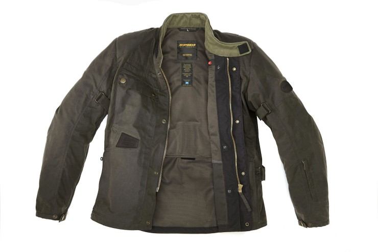 Spidi Worker Wax Motorcycle Jacket