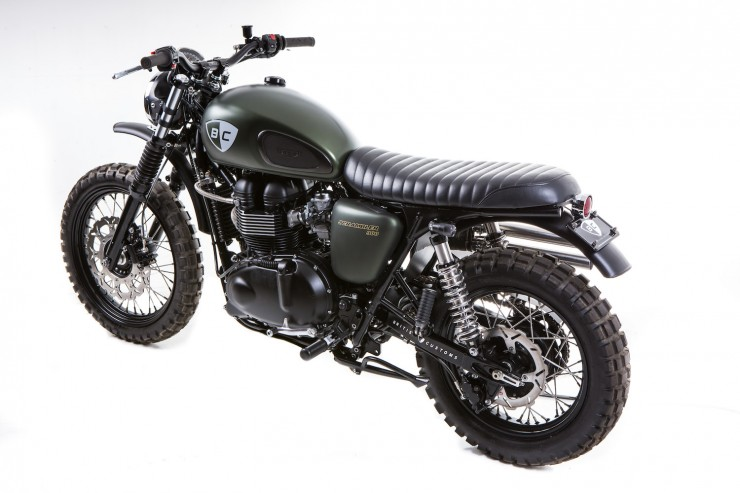 Triumph Scrambler 1 740x493 The Dirt Bike by British Customs