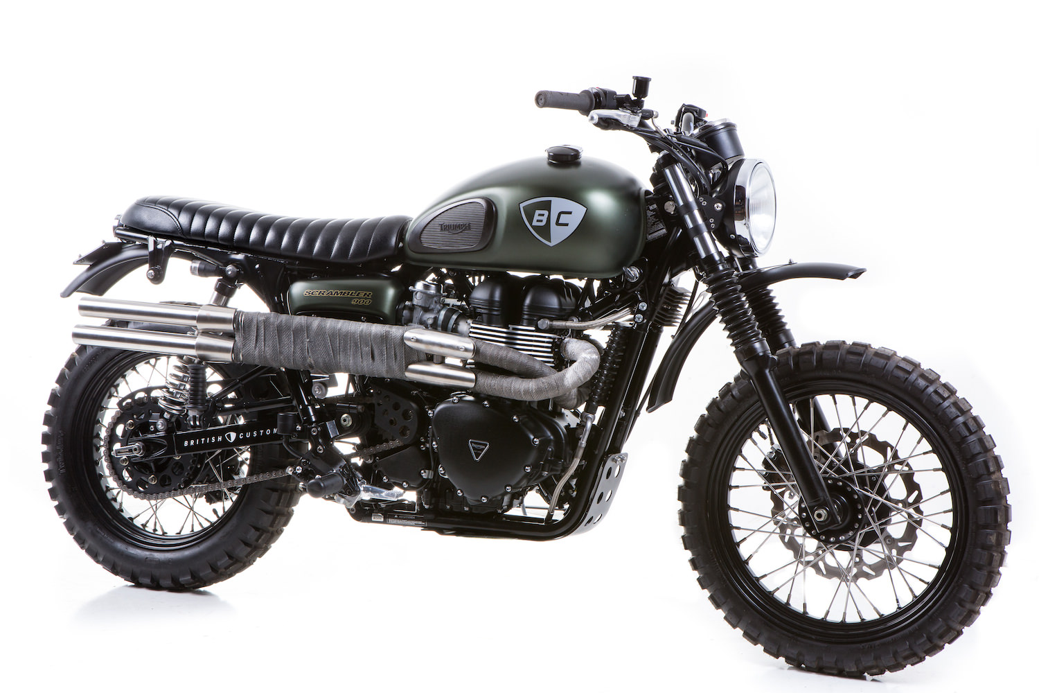 The Dirt Bike By British Customs