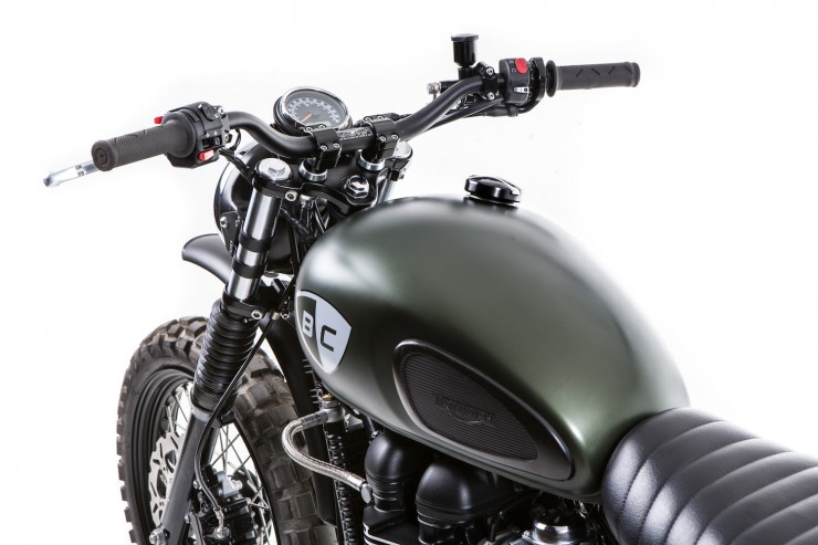 Triumph Scrambler 3 740x493 The Dirt Bike by British Customs