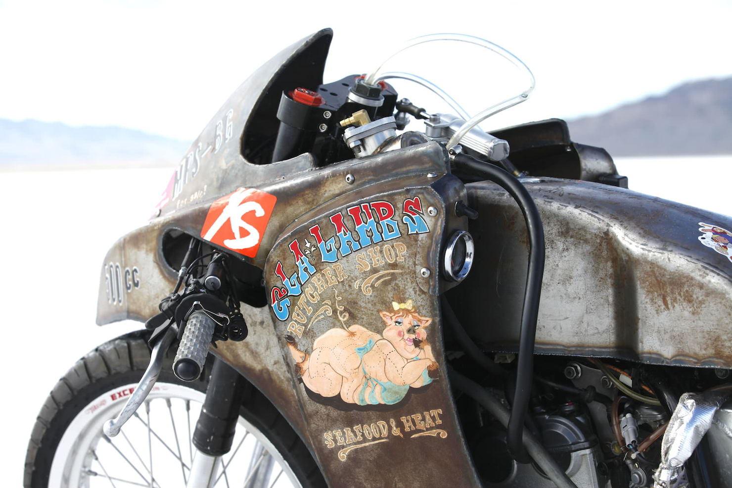 Turbo Yamaha Salt Flat Racer by Super Rat 2