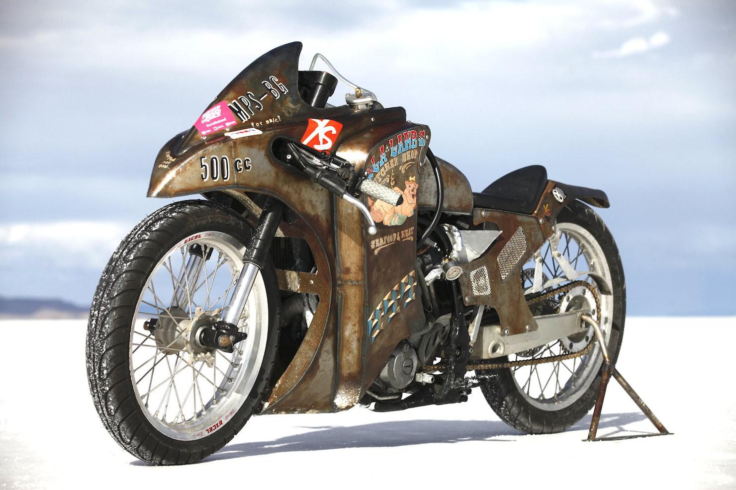 Turbo Yamaha Salt Flat Racer by Super Rat 3