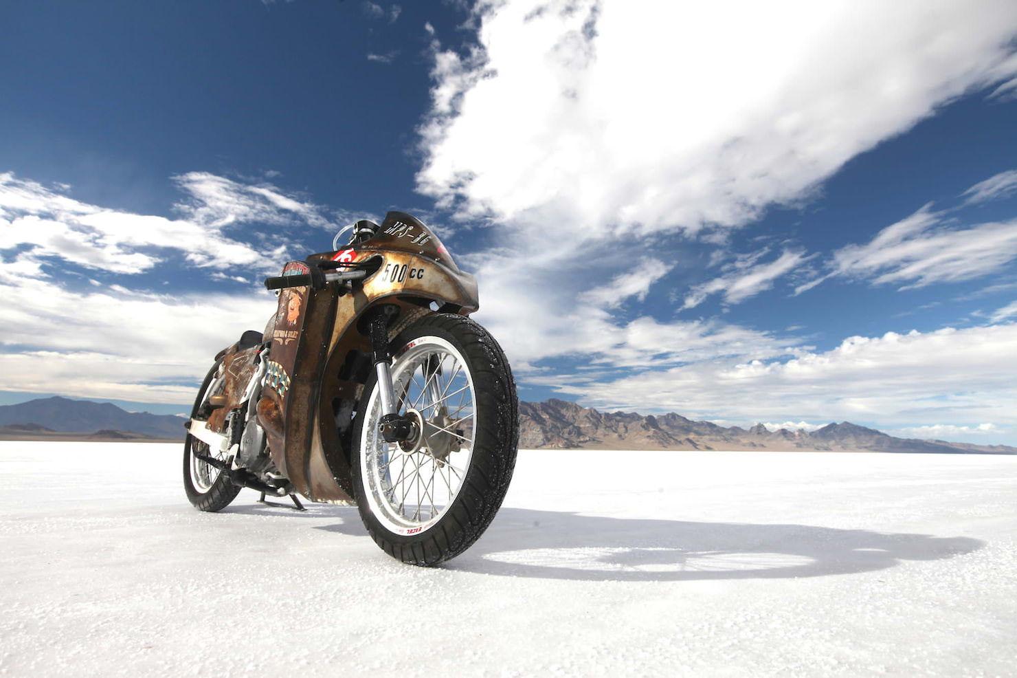 Turbo Yamaha Salt Flat Racer by Super Rat 5