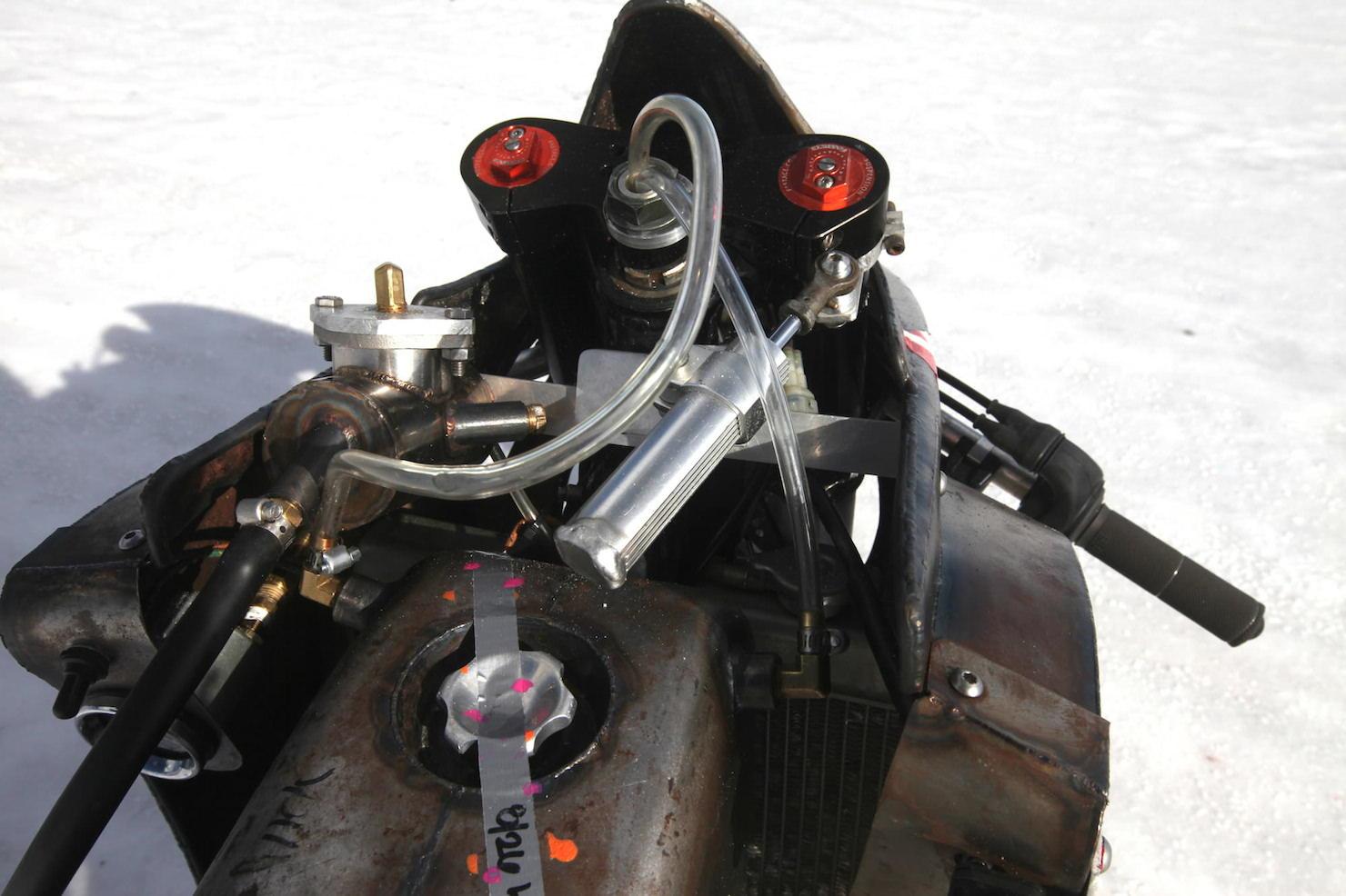 Turbo Yamaha Salt Flat Racer by Super Rat 6