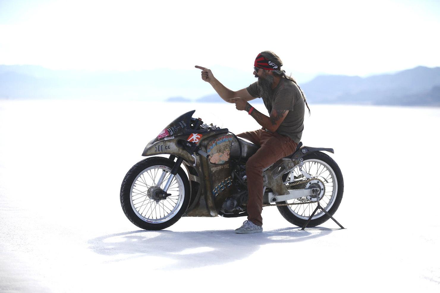 Turbo Yamaha Salt Flat Racer by Super Rat 8